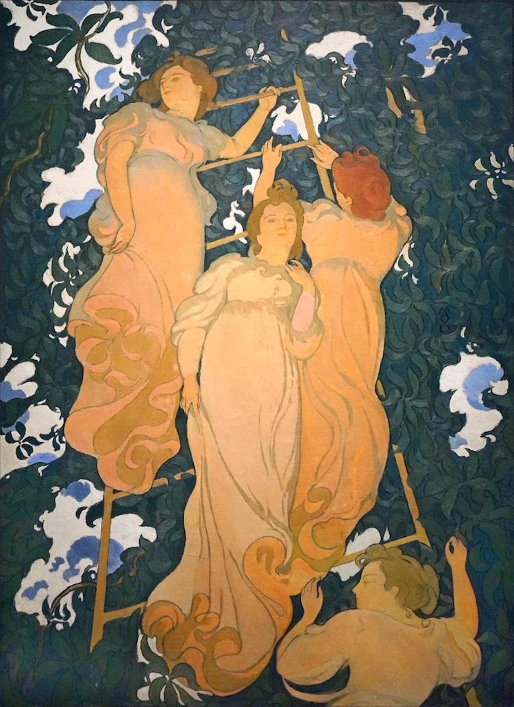 Poetic Arabesque by Maurice Denis