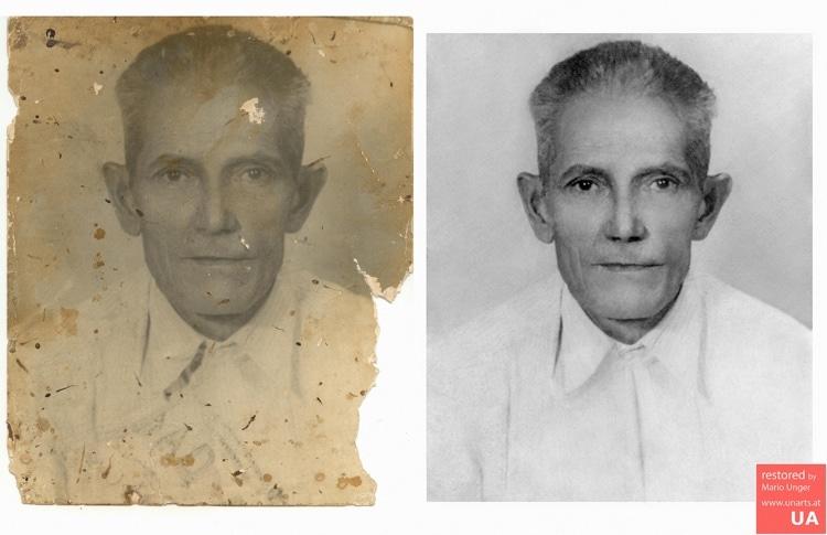 restauracion de fotos viejas por Mario Unger