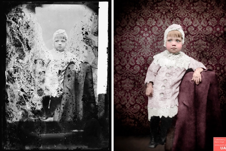 restauración fotografica por Mario Unger