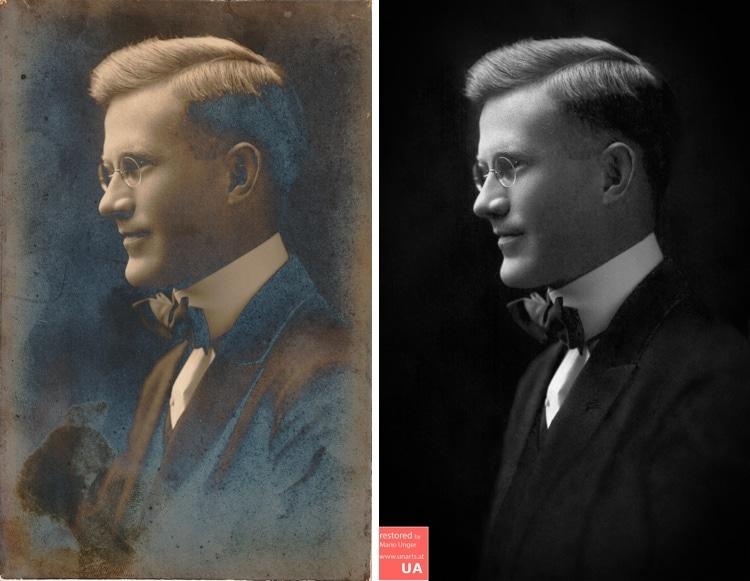 restauracion de fotografias antiguas porMario Unger