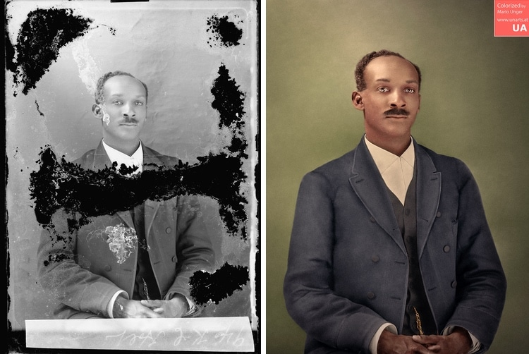 restauracion de fotografias por Mario Unger