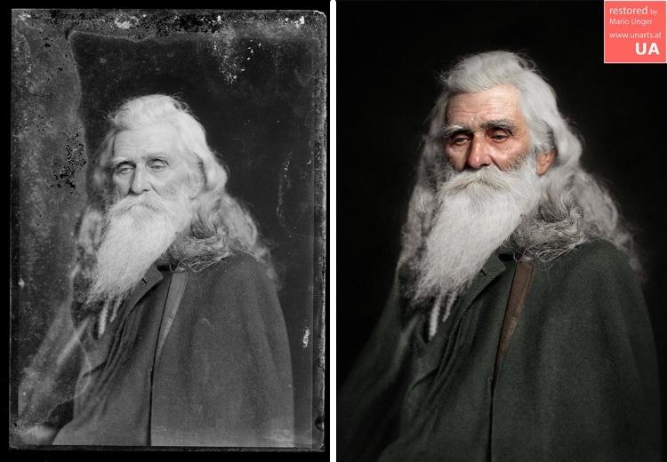 restauracion de fotografias antiguas por Mario Unger