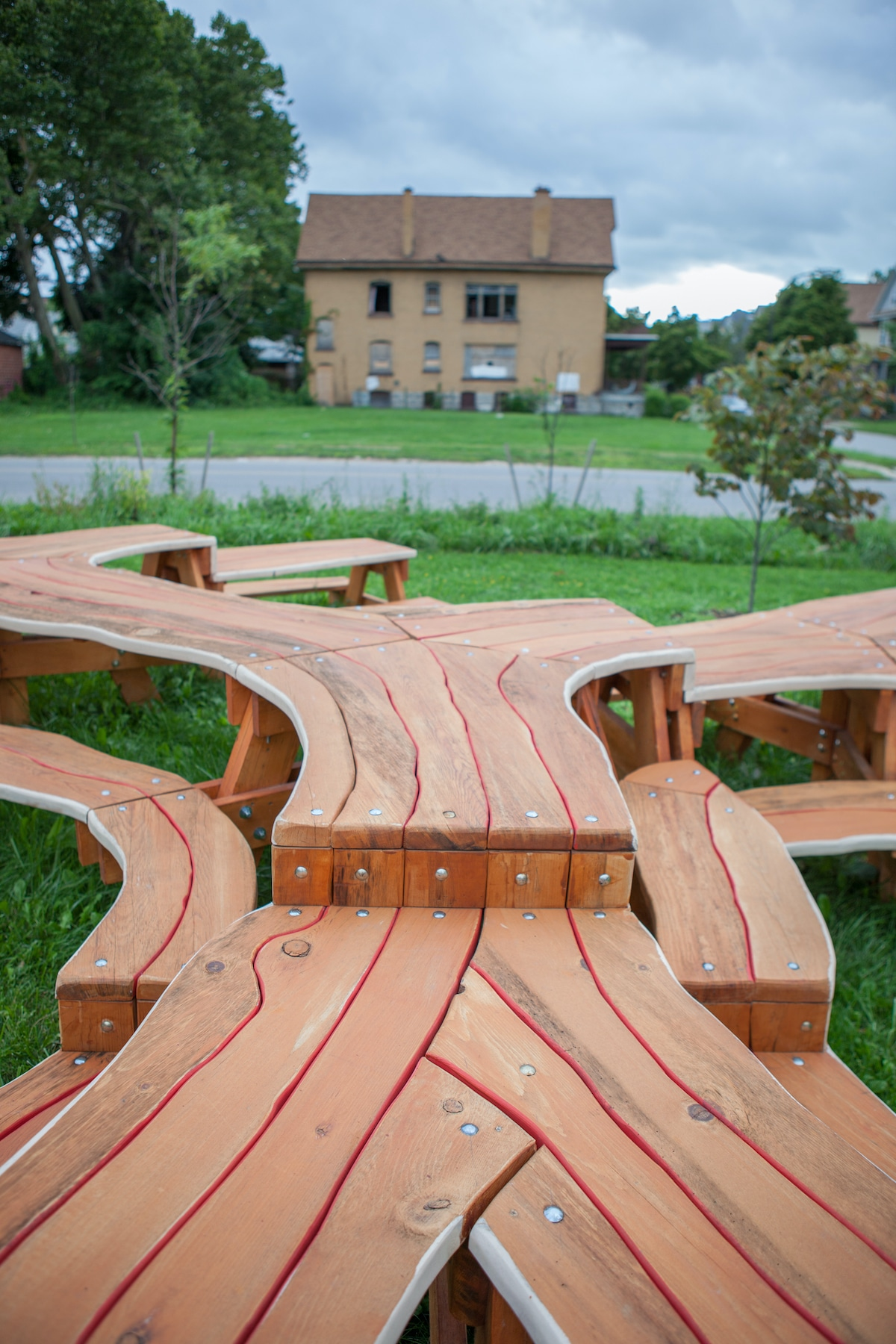 Contemporary Picnic Table by Micahel Beitz