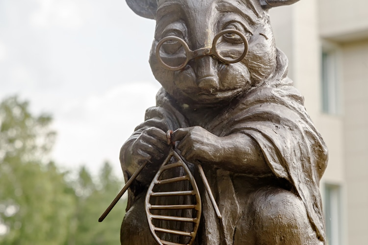 Monument to the Laboratory Mouse