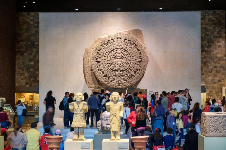 museo de antropologia calendario azteca