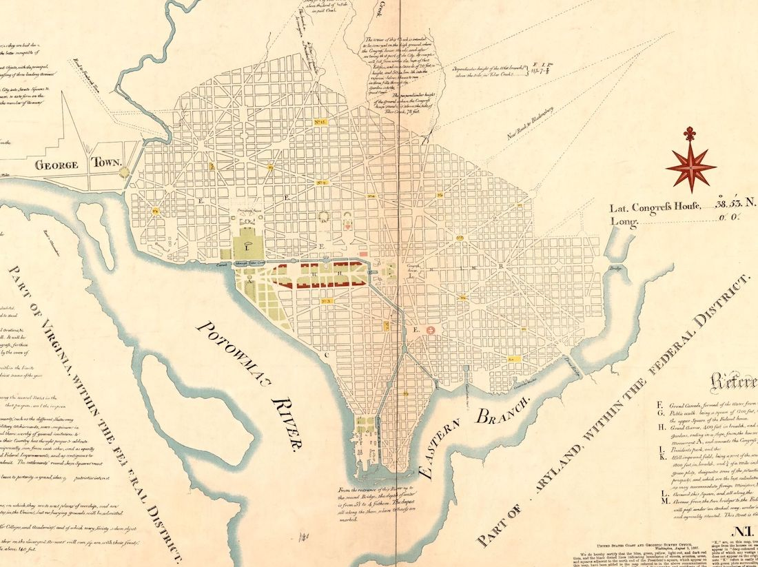 Plan for the National Mall