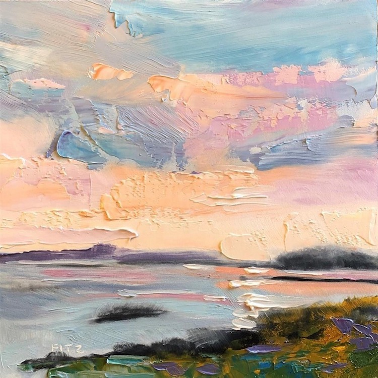 Palette Knife Paintings by Charlotte Fitzgerald