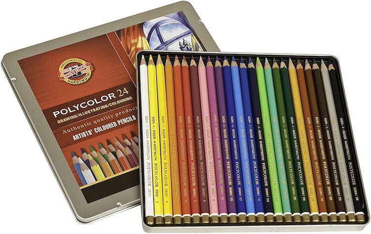 Polycolor Colored Pencils