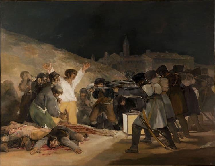 El 3 de mayo en Madrid de Francisco de Goya