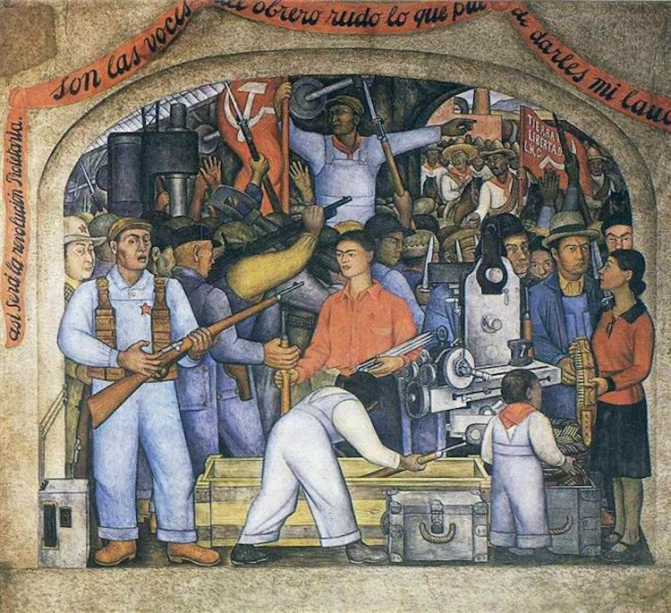 En el arsenal de Diego Rivera