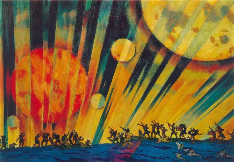 Nuevo planeta de Konstantin Yuon