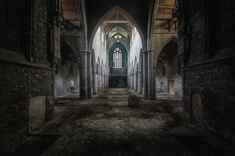 Abandoned Churches by Roman Robroek