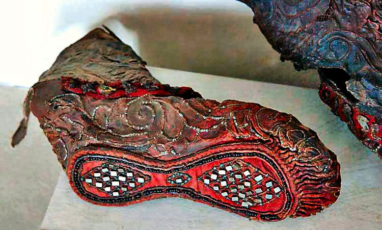 Ancient Scythian Shoe