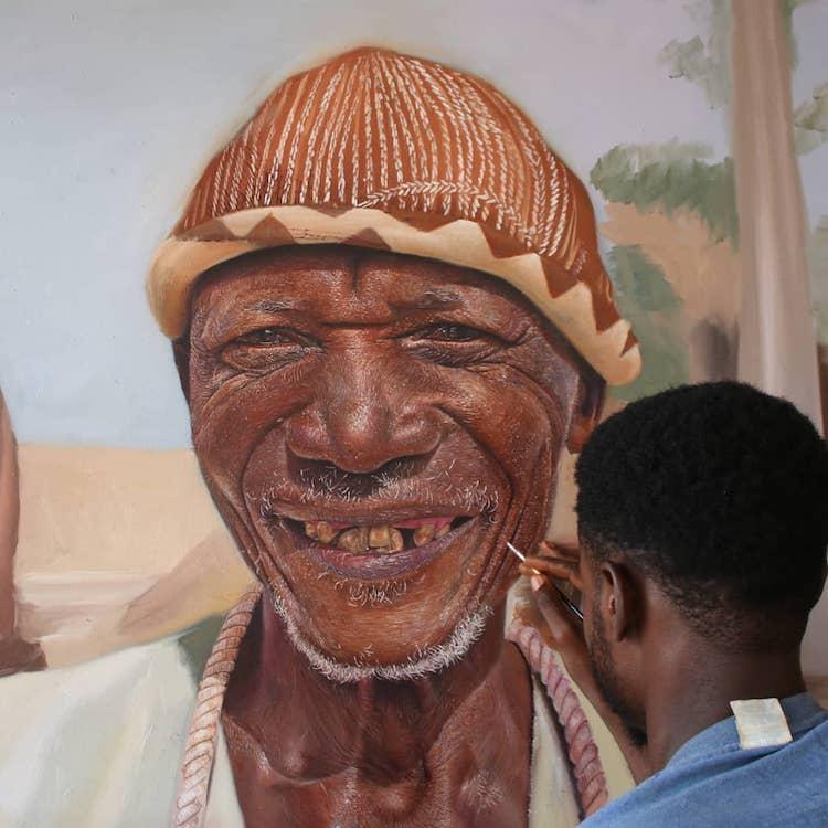 Realistic Portraits by Silas Onoja