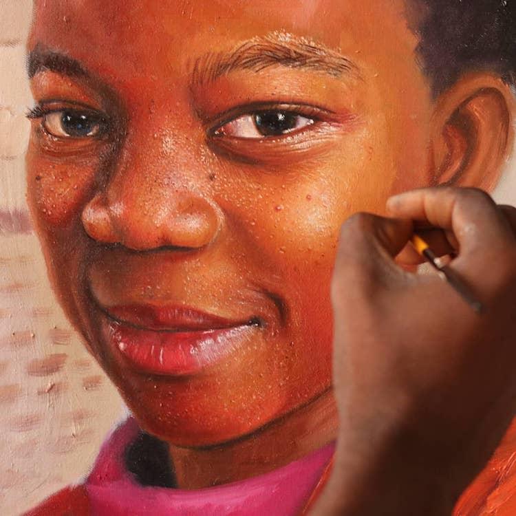 obra de pintores africanos