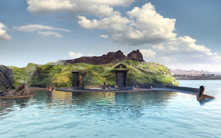 Sky Lagoon spa geotermal en islandia
