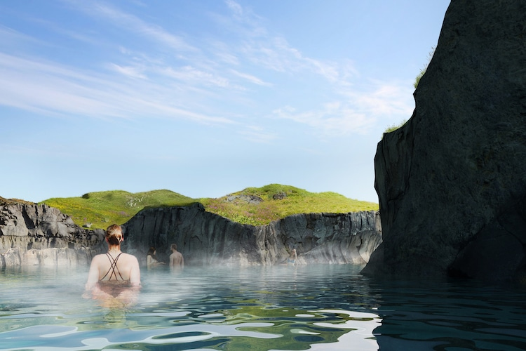 Sky Lagoon balneario termal en islandia