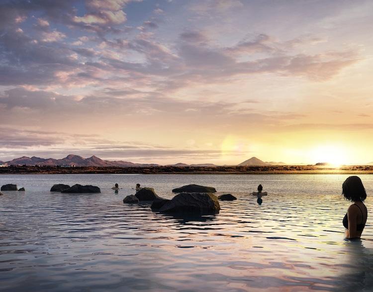 Sky Lagoon aguas geotermales en islandia