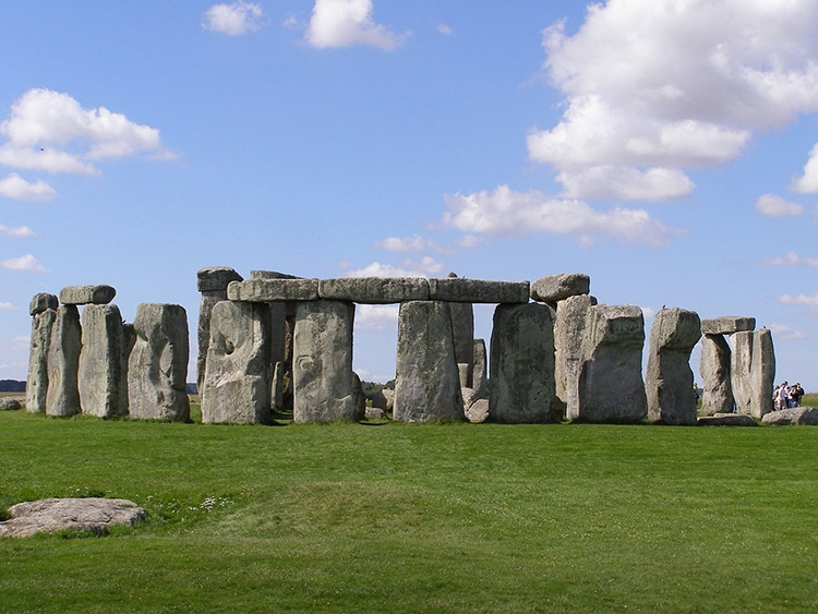The ancient stonehenge monuments