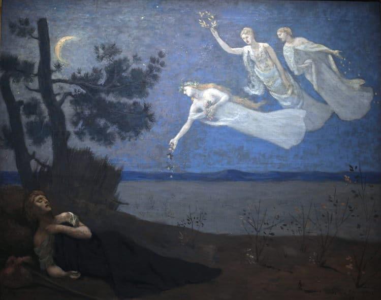 The Dream by Pierre Puvis de Chavannes