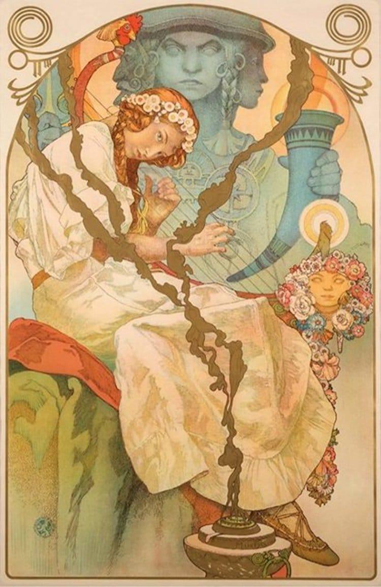 The Slav Epic by Alphonse Mucha