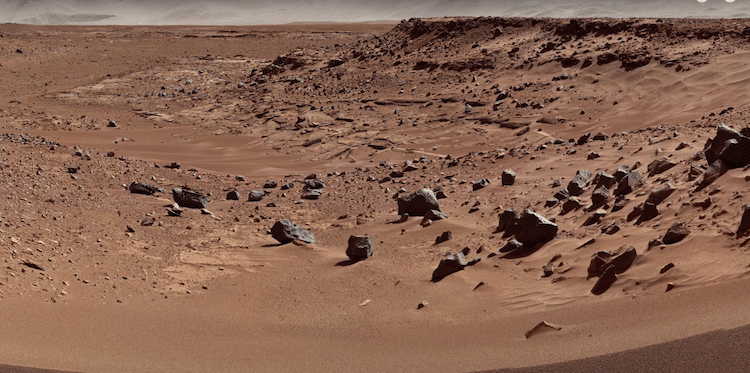 4K Video of Mars