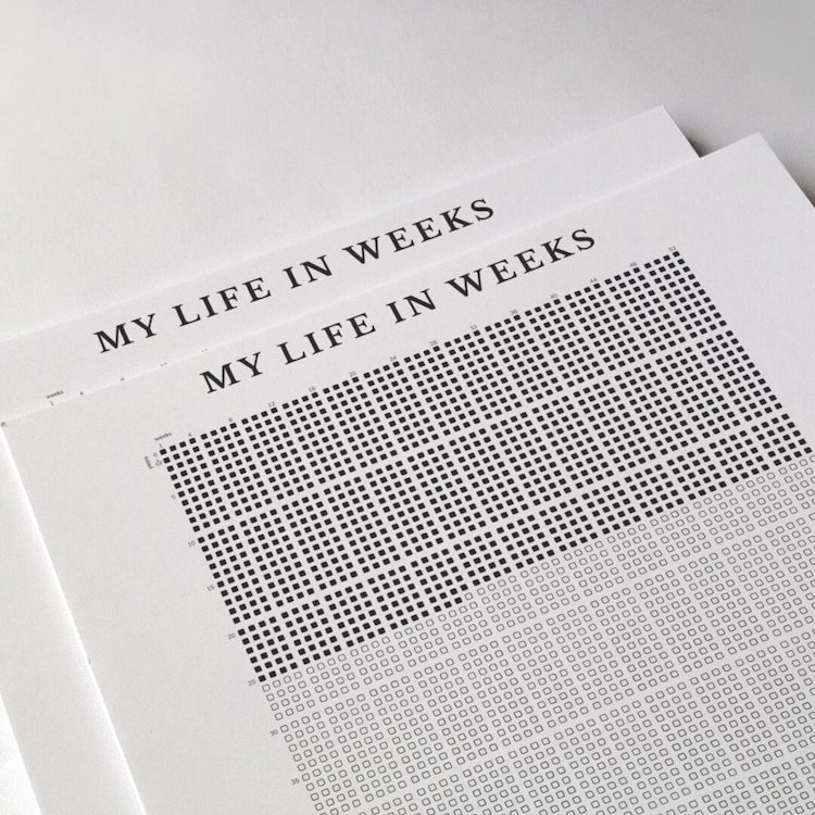 Life in Weeks Poster