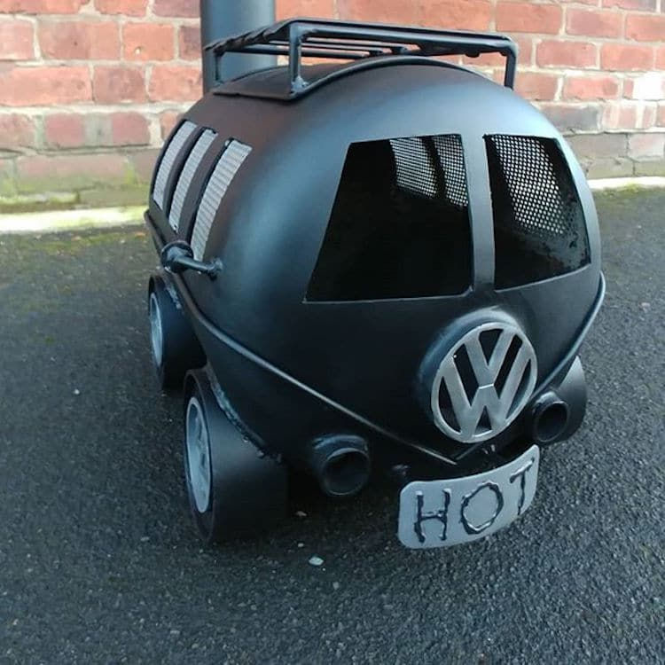Volkswagen Type 2 Grill By Danny Lyons