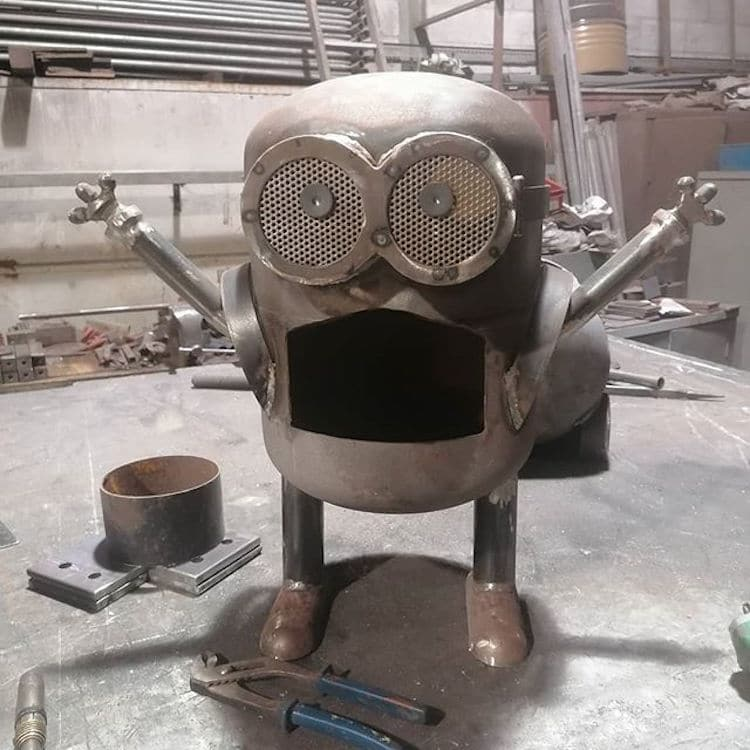 Minion Grill By Danny Lyons
