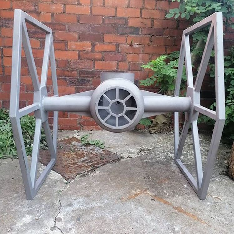 TIE Fighter Grill By Danny Lyons