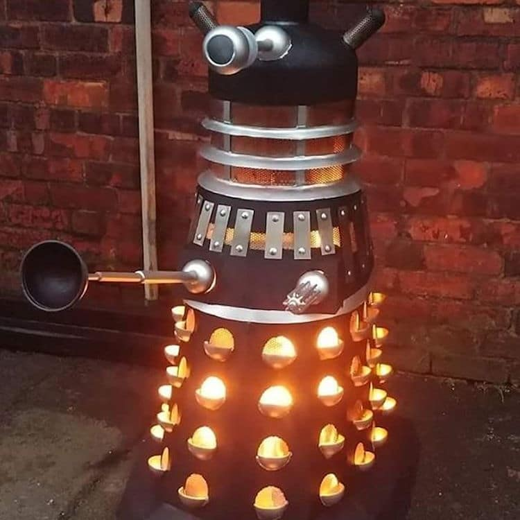 Dalek Grill By Danny Lyons