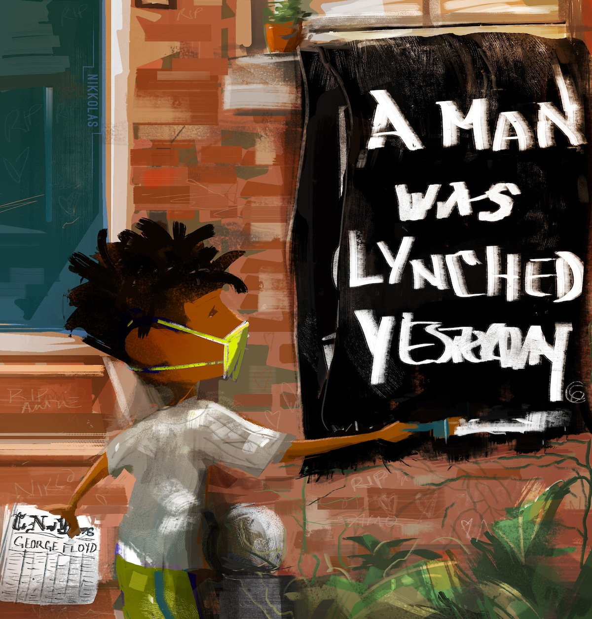 George Floyd Lynching by Nikkolas Smith