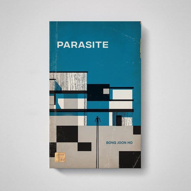 Parasite as Old Book by Matt Stevens