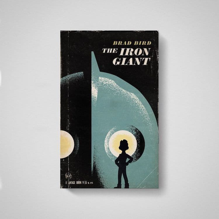 Iron Giant as Old Book by Matt Stevens