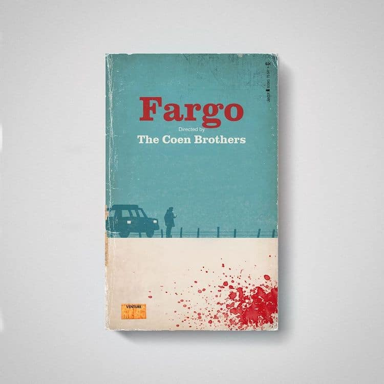Fargo as Old Book by Matt Stevens