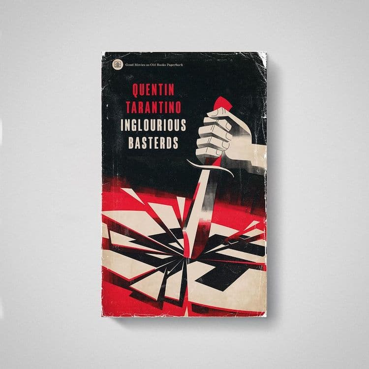 Inglorious Basterds as Old Book by Matt Stevens