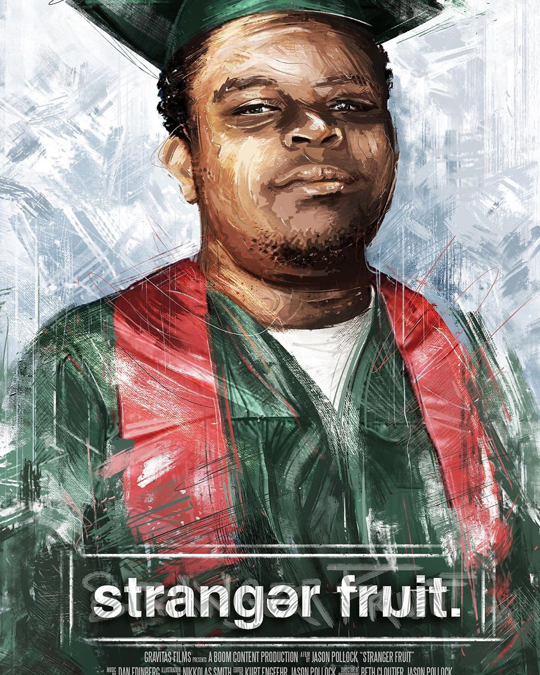 Mike Brown Stranger Fruit by Nikkolas Smith