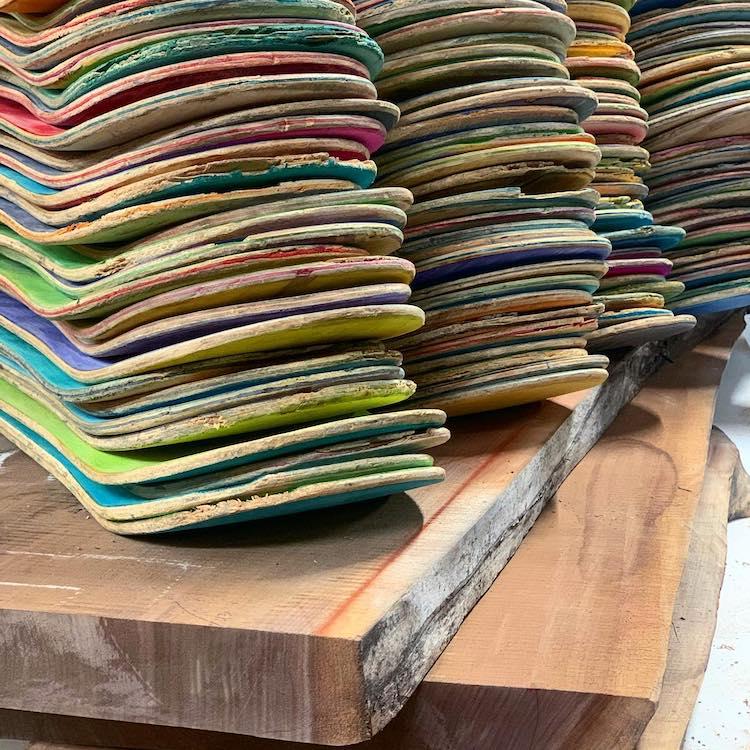 proyecto con patinetas recicladas por AdrianMartinus