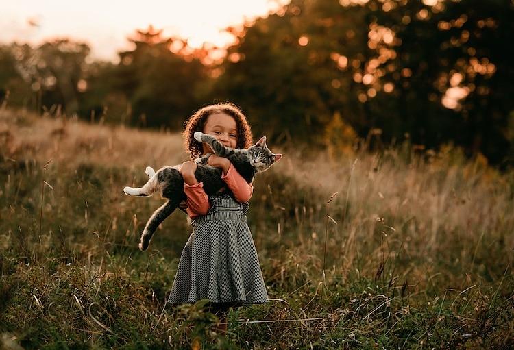 Fotos de niños con animales por Andrea Martin