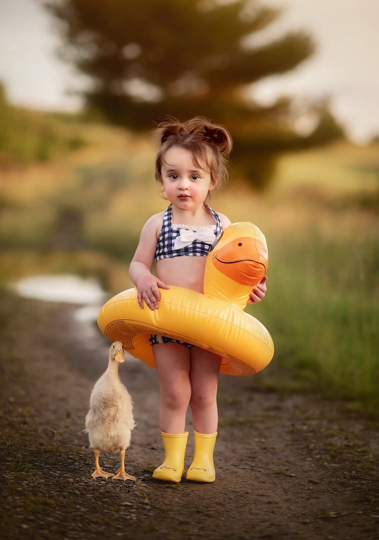 Kids and Animal Photography