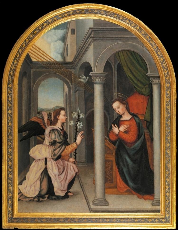 Annunciation by Plautilla Nelli