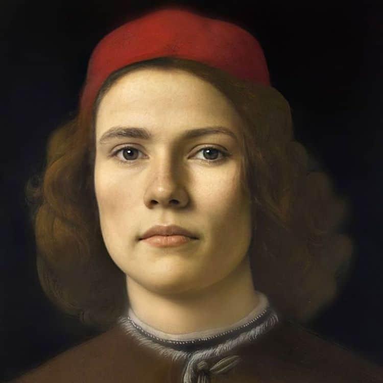 retratos de personajes historicos por Bas Uterwijk