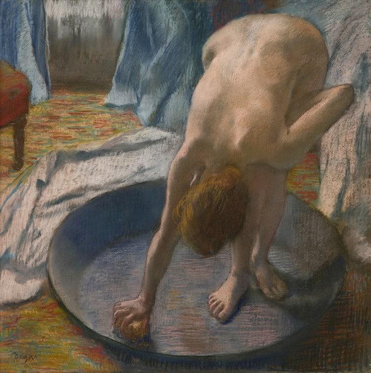Edgar Degas, La bañera