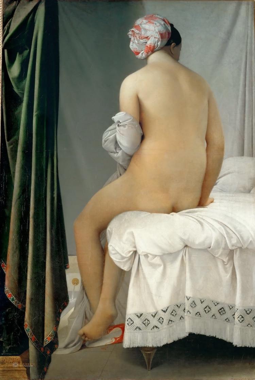 Ingres, La bañista de Valpinçon