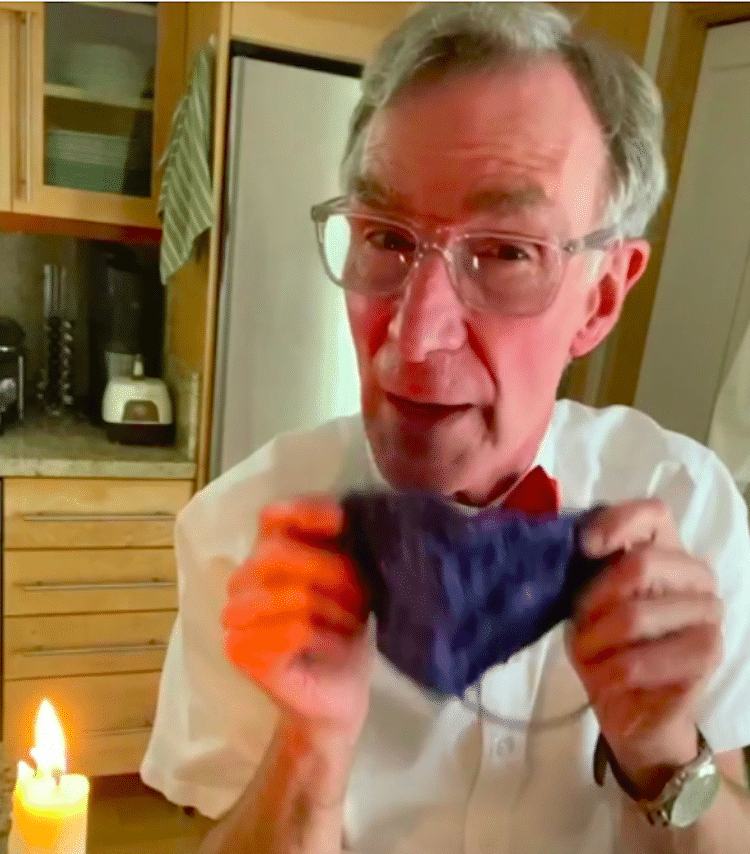 Bill Nye Wear a Face Mask