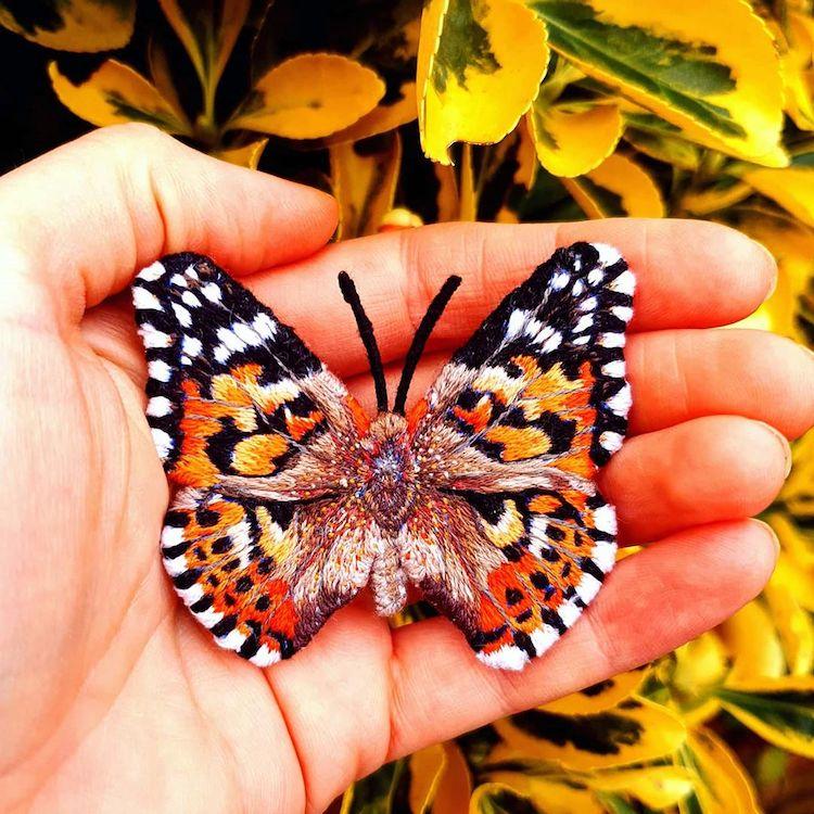 Butterfly Brooch by Georgie Emery