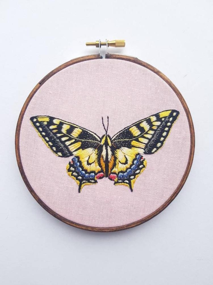 Embroidery Designs by Georgie Emery