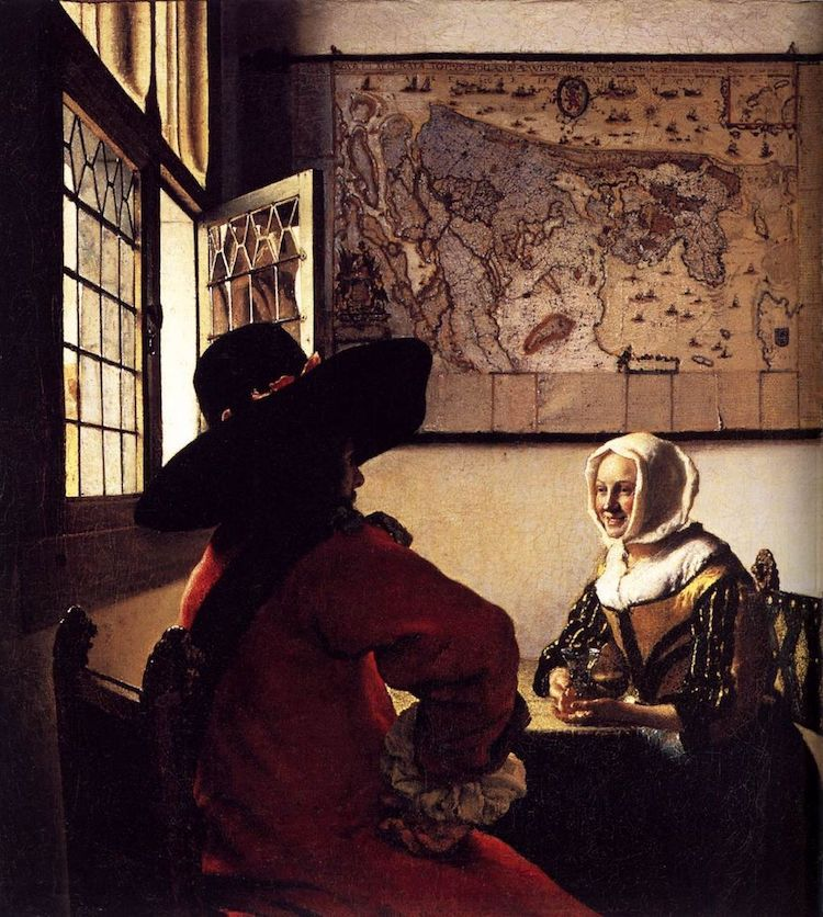 Johannes Vermeer and Camera Obscura