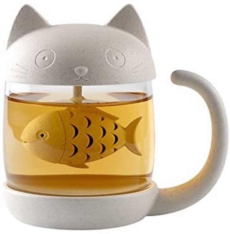 Infusor de té de goma