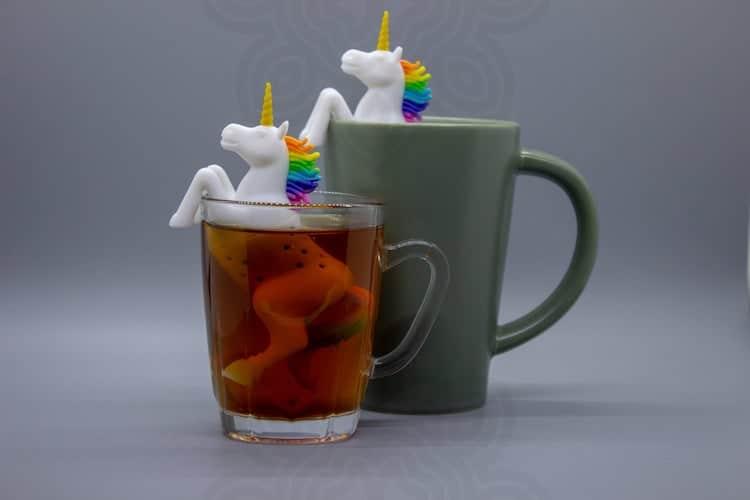 Infusor de té de unicornio